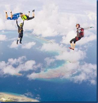 Shangri-La Villingili - skydiving 2