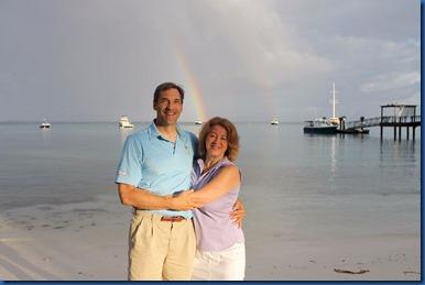 Bruce and Lori rainbow