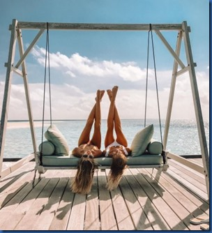 Xenia Van Der Woodsen and Leonie Hanne (Germany) – One & Only Reethi Rah
