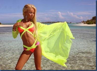 Maria Sionova (Russia) - Gili Lankanfushi 2