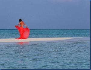 Olga Igorevna Zavyalova (Russia) - Rihiveli Beach