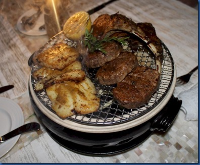 Finolhu - table grill