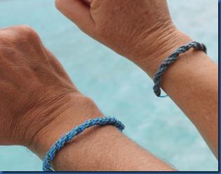 Faarufushi - ghost net bracelets 2