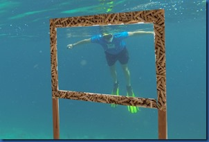 Havent Seen - underwater frame